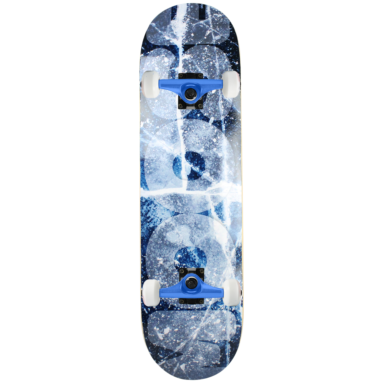 Moose skateboard Complete Cracked Ice 8.25in