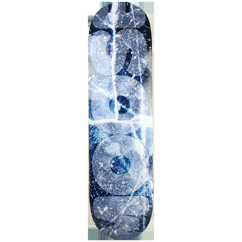 Moose Skateboard Deck Cracked Ice 8.25in