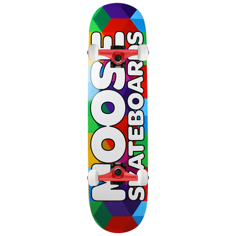 Moose Skateboard Complete Cubes 7.75in