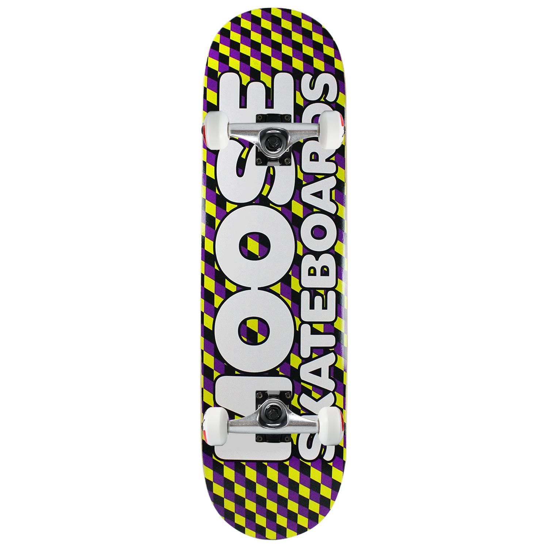 Moose Skateboard Complete Diamond Checkers 8.25in