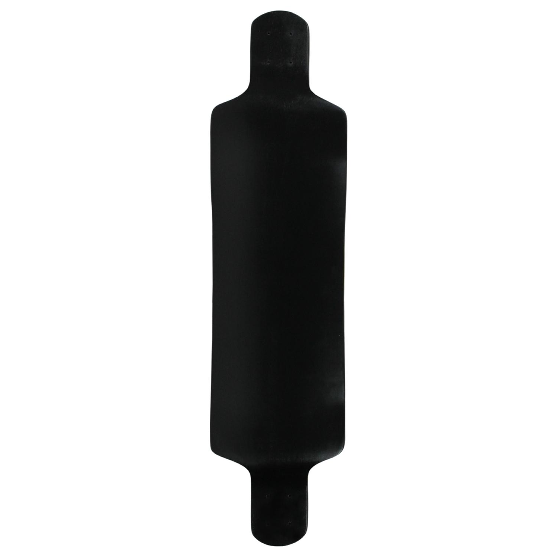 Moose Longboard Drop Down Deck Dip Black 10in x 39.8in