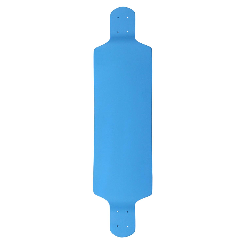 Moose Longboard Drop Down Deck Light Blue 10in x 39.8in