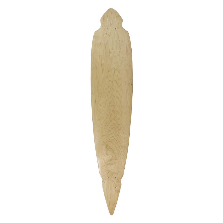 Moose Longboard Pintail Deck Natural 9.25in x 46in