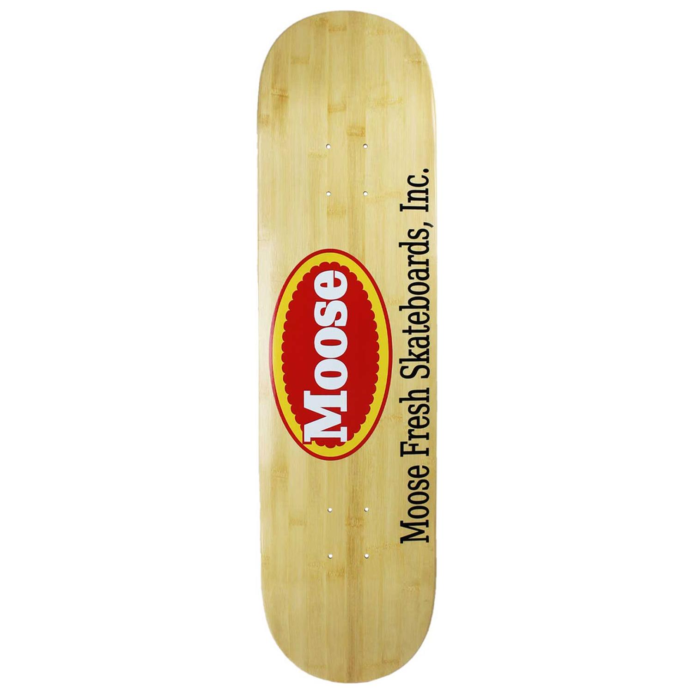 Moose Skateboard Fresh Logo Bamboo 8in