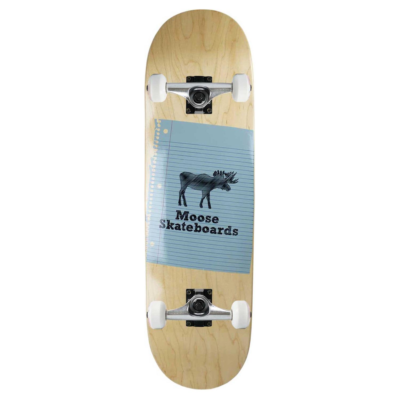 Moose Skateboard Complete Sketch Natural 8.75in