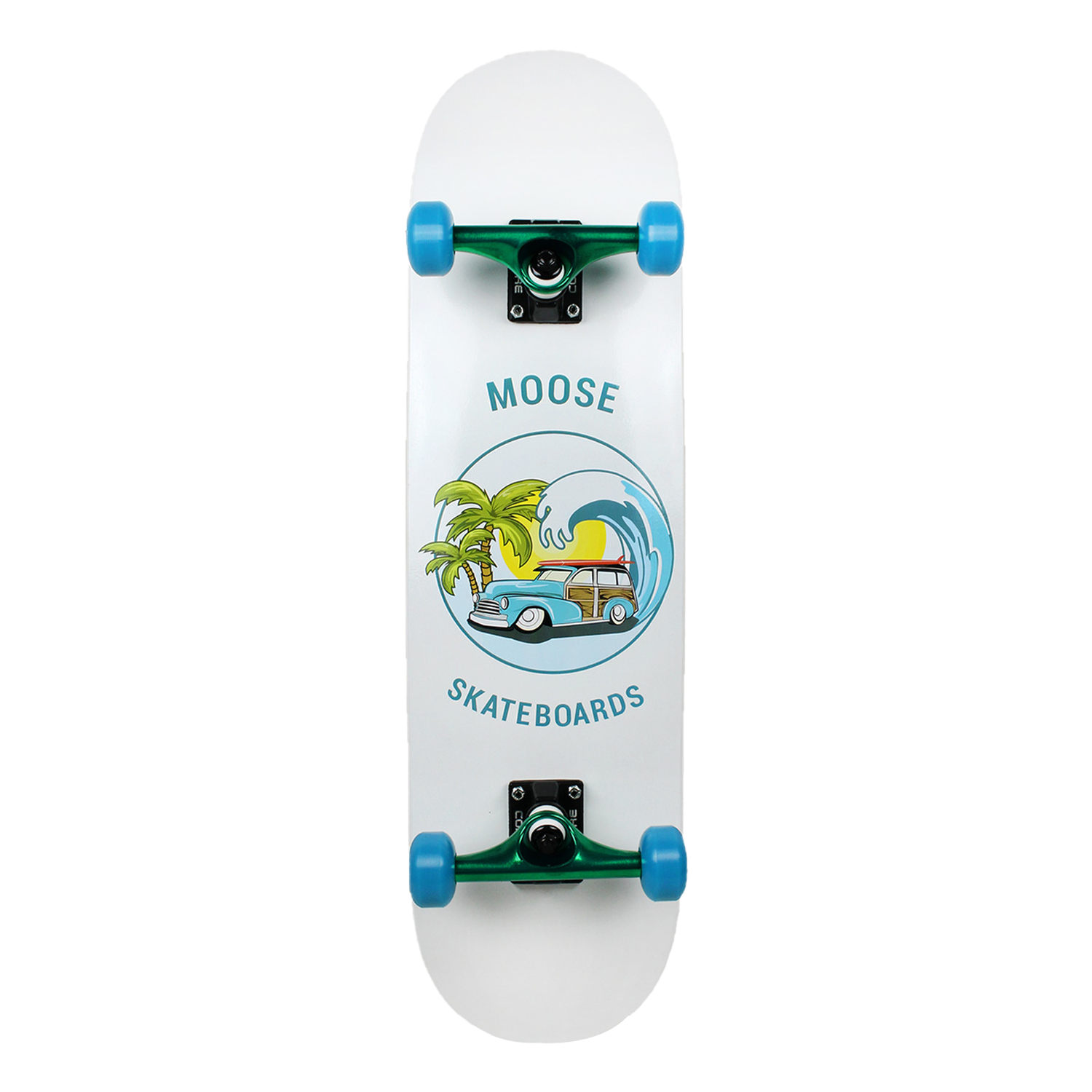 Moose Skateboard Complete Sunset Cruise 8.25in