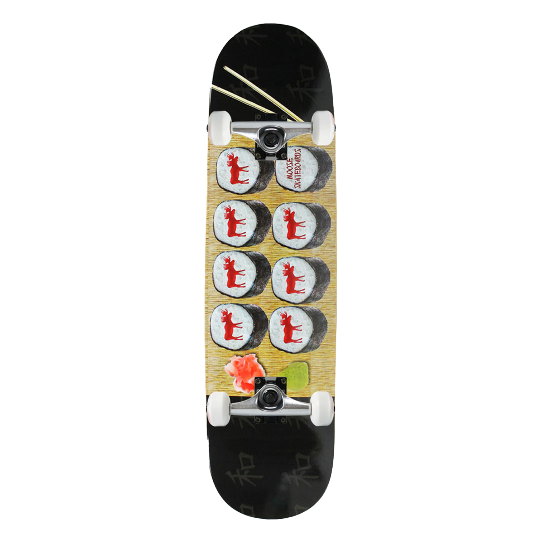 Moose Skateboard Complete Sushi 7.75in, 8in