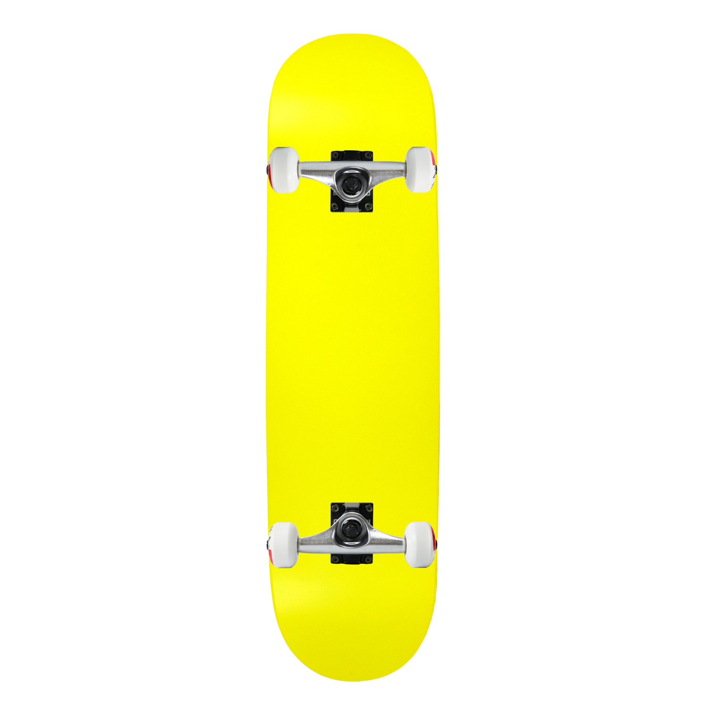 Moose Skateboard Complete Neon Yellow 7.5in-8.25in
