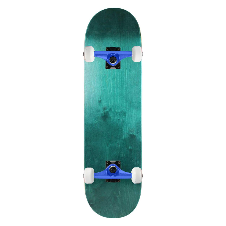 Moose Skateboard Complete Stain Teal 7.3in-7.625in