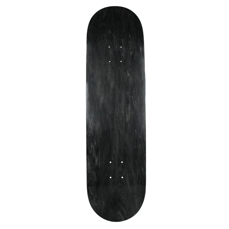 Moose Skateboard Deck Canadian Made Blank Black 8in, 8.25in, 8.5in