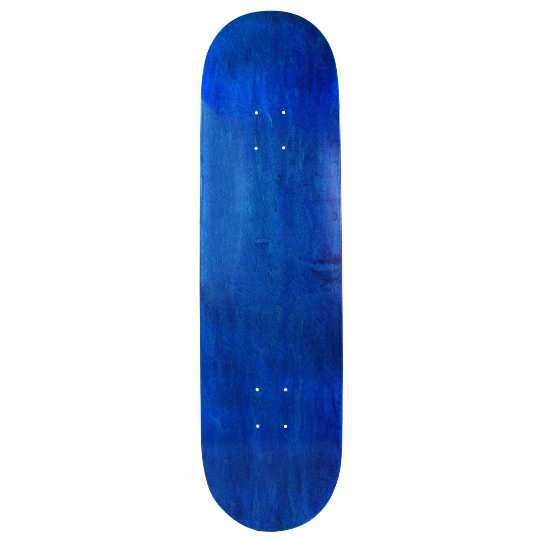 Moose Skateboard Deck Canadian Made Blank Blue 8in, 8.25in, 8.5in