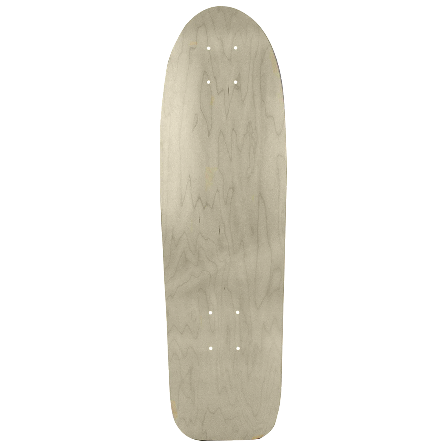 Moose Skateboard Cruise Deck Canadian Made Natural 8in x 27in