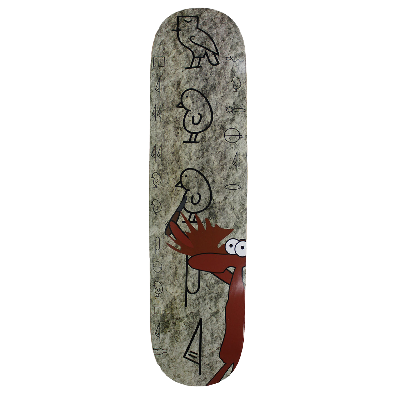 Moose Skateboard Deck Heiroglyphic 7.75in, 8in