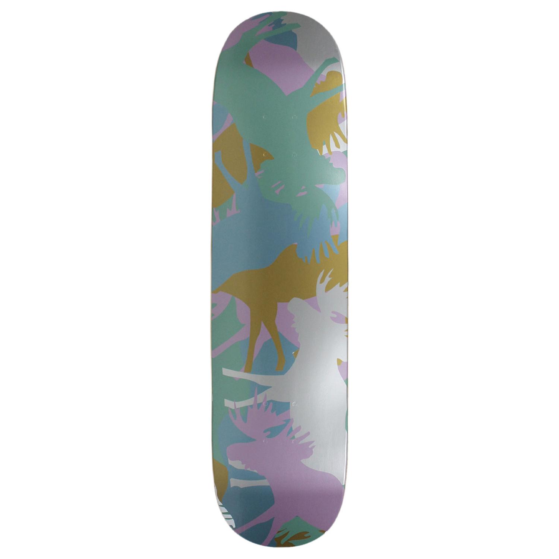 Moose Skateboard Deck Allover Pastel 7.5in, 7.75in, 8in, 8.25in