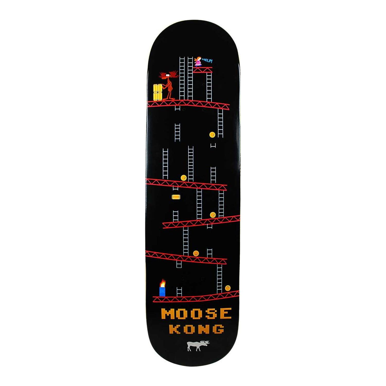 Moose Skateboard Deck Moose Kong 7.75in, 8in, 8.25in