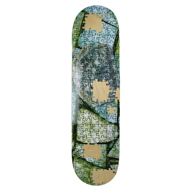 Moose Skateboard Deck Puzzle 7.75in, 8in, 8.125in