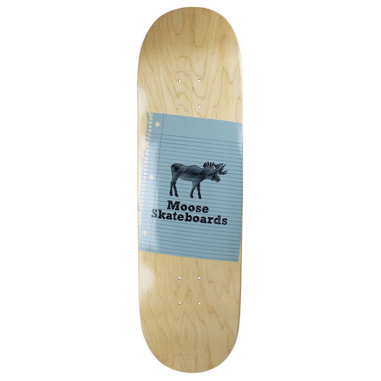 Moose Skateboard Deck Sketch Natural 8.75in