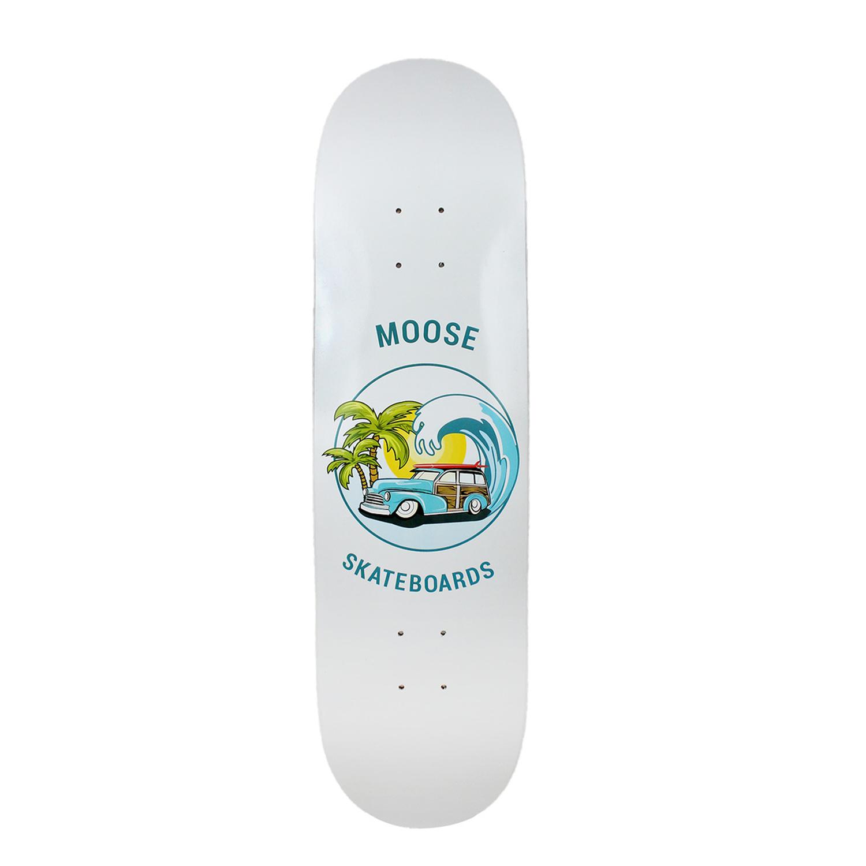 Moose Skateboard Deck Sunset Cruise 8.25in
