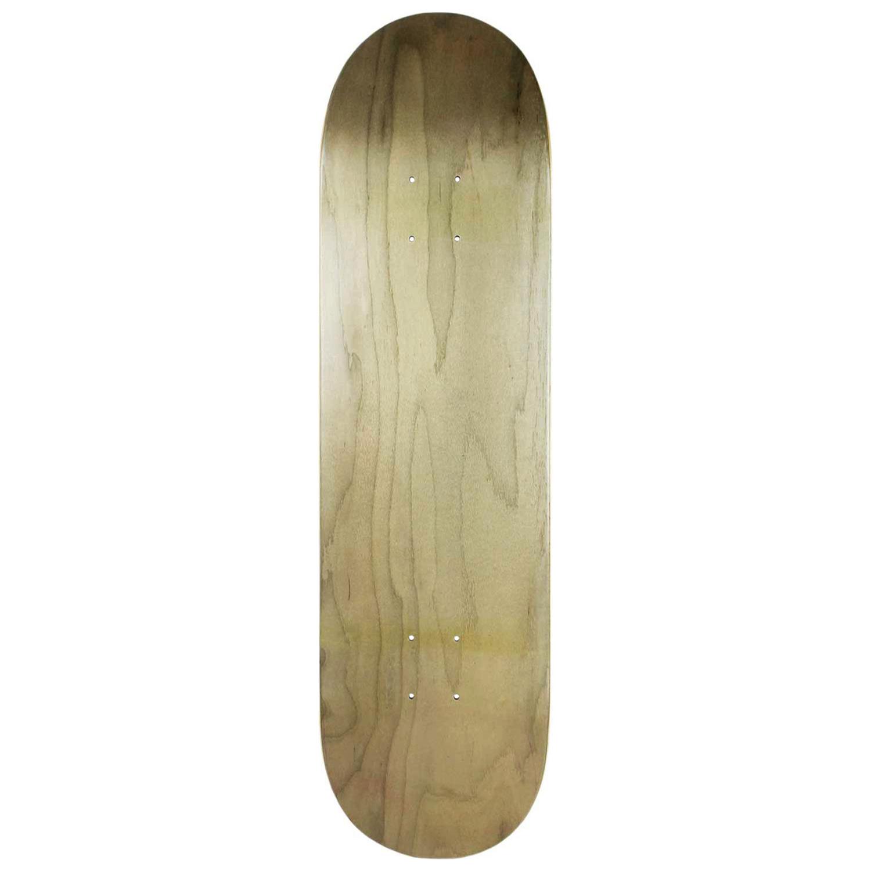 Moose Skateboard Deck Stain Grey 7in-8.5in
