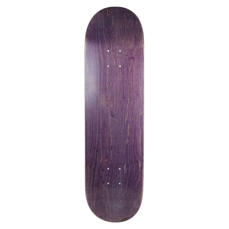 Moose Skateboard Deck Stain Purple 7.5-8.5in