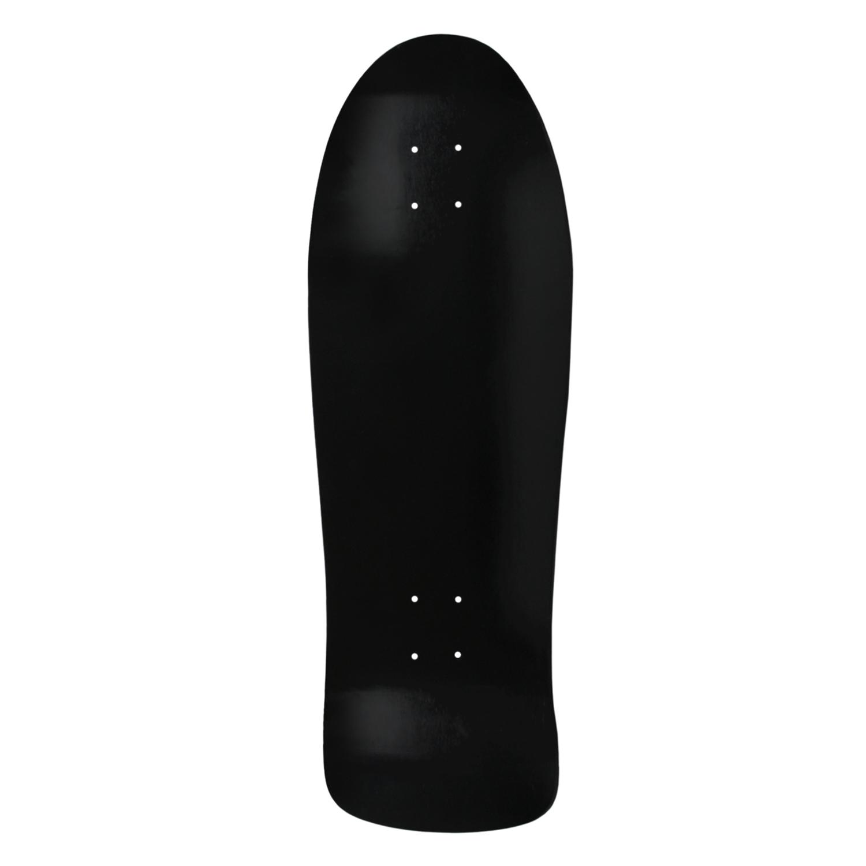 Moose Skateboard Old School Deck Dip Black 10in x 30in