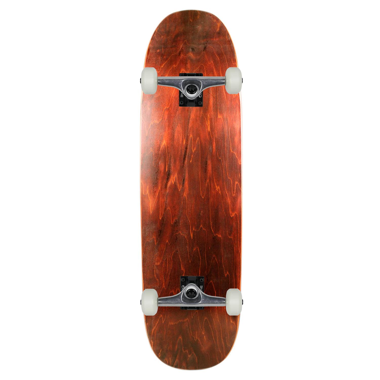 Moose Skateboard Old School Complete Blunt Nose Popsicle Stain Brown 8.75in x 32.1in