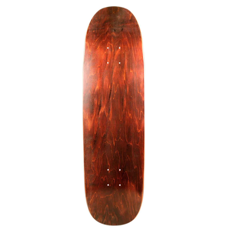 Moose Skateboard Old School Deck Popsicle Nose Stain Brown 8.75in x 32.1in