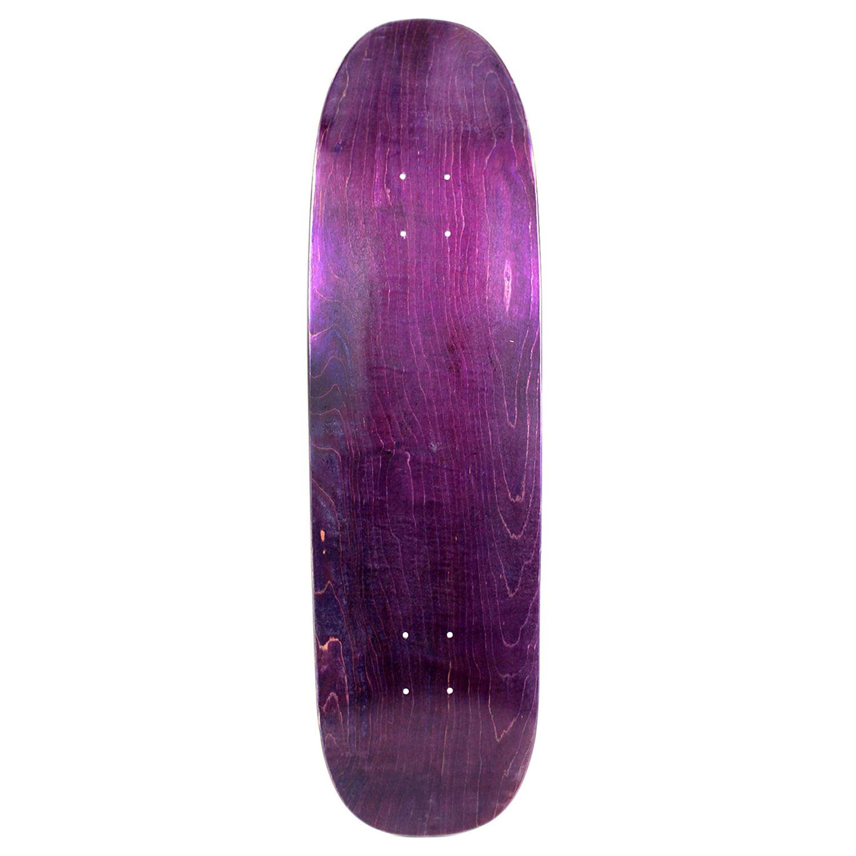 Moose Skateboard Old School Deck Popsicle Nose Stain Purple 8.75in x 32.1in
